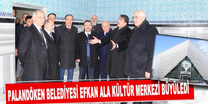 Palandöken Belediyesi Efkan Ala Kültür Merkezi büyüledi