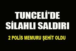 Tunceli'de silahlı saldırı