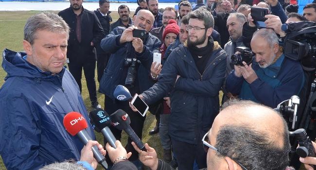 """""""Erzurumspor'un ligde kalacağına inanmasaydık burada olmazdık"""""""