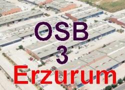 Erzurum'a 3. OSB kuruluyor!
