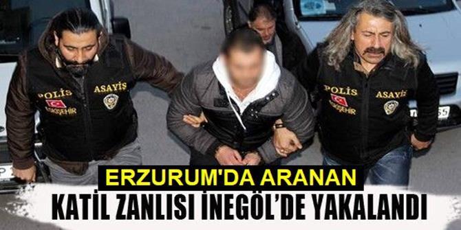 Erzurum'da aranan Cinayet zanlısı yakalandı