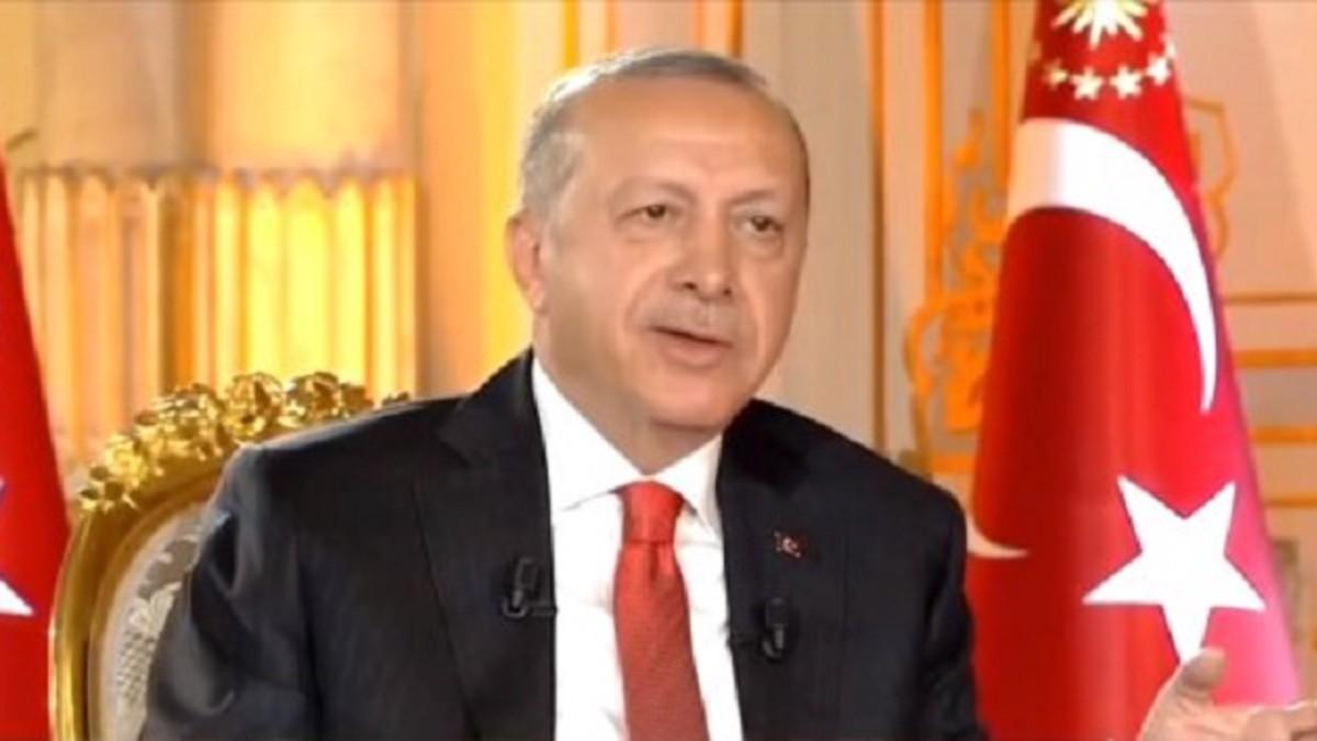 Erdoğan'a sorulan 'yumurta' sorusu canlı yayına damga vurdu!