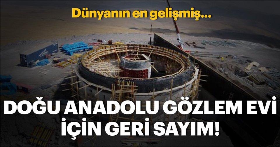 """Doğu Anadolu Gözlemevi'ndeki """"DR2""""nin tasarımı tamamlandı"""