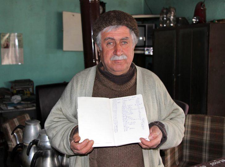 1977'den beri hesabını tuttuğu borçlarını alamadı