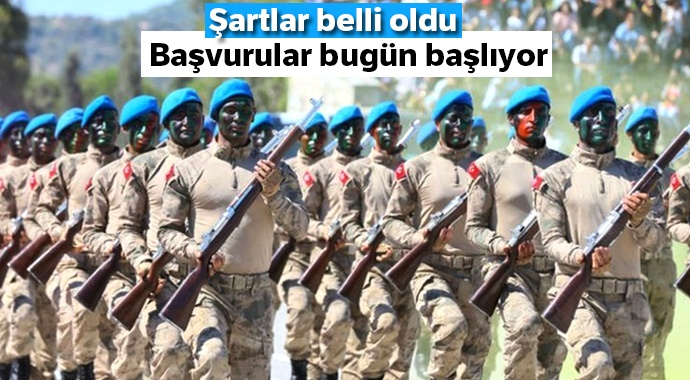 Jandarma Genel Komutanlığı'na 'uzman erbaş' alınacak