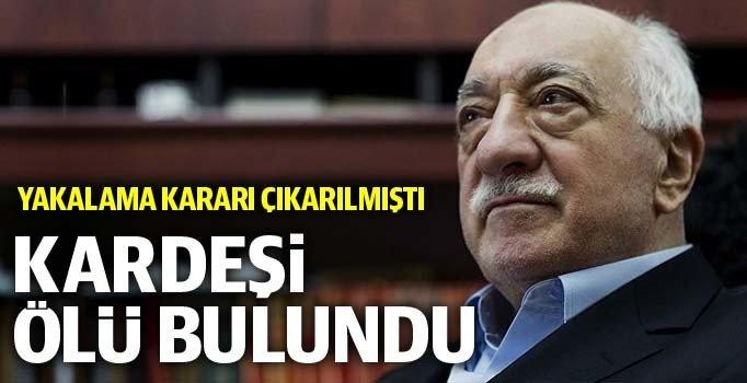 FETÖ elebaşı Gülen'in kardeşi Salih Gülen İstanbul'da ölü bulundu