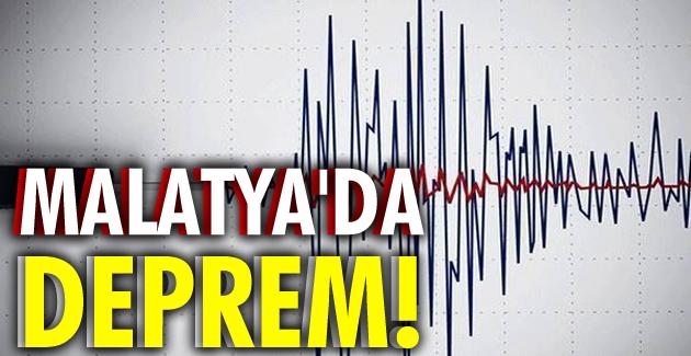 Malatya'da deprem! İşte şiddeti ve merkez üssü