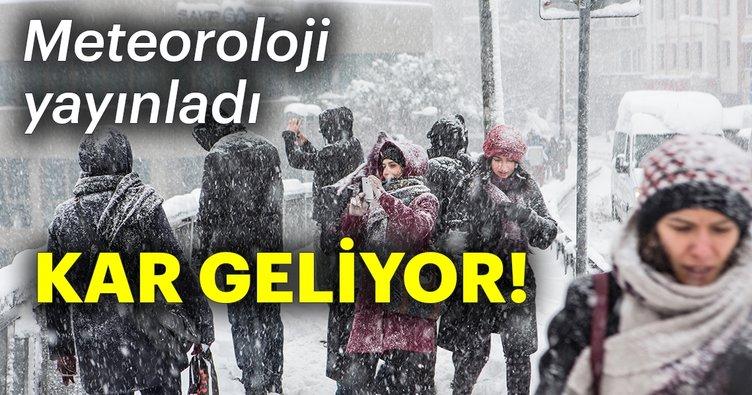 lkbaharda Doğu Anadolu'da kar bekleniyor