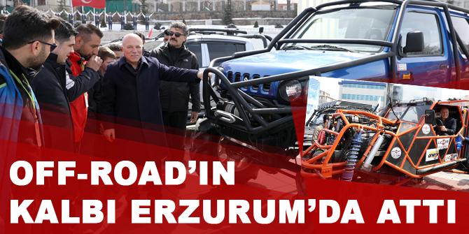 Off-Road'ın kalbi Erzurum'da attı