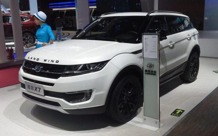 Orijinalinin yarı fiyatına çakma Range Rover Evoque