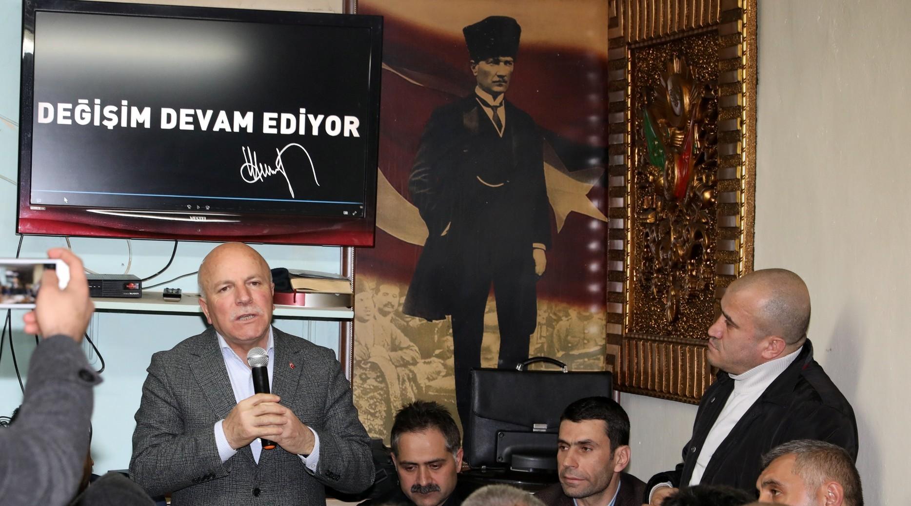 """Sekmen: """"31 Mart'ta el ele vererek Erzurum'u ayağa kaldıralım"""""""