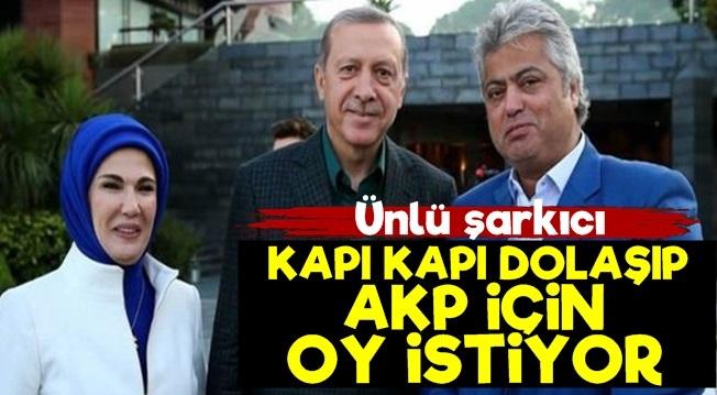 Cengiz Kurtoğlu, kapı kapı dolaşıp AK Parti adayına destek istedi