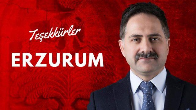 Teşekkürler Erzurum..