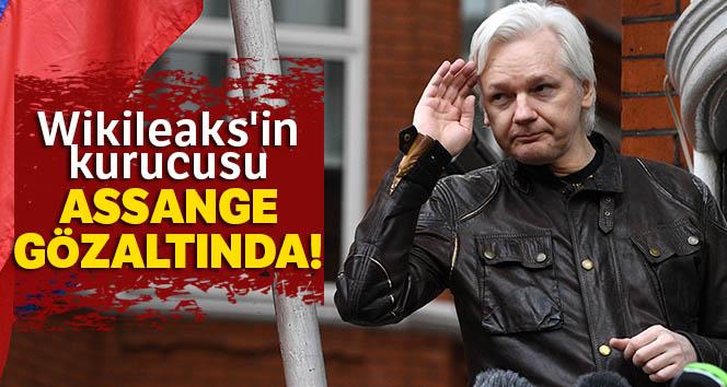 Wikileaks'in kurucusu Assange gözaltında