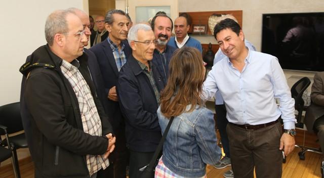 Başkan Aras halkla buluşmalara devam ediyor
