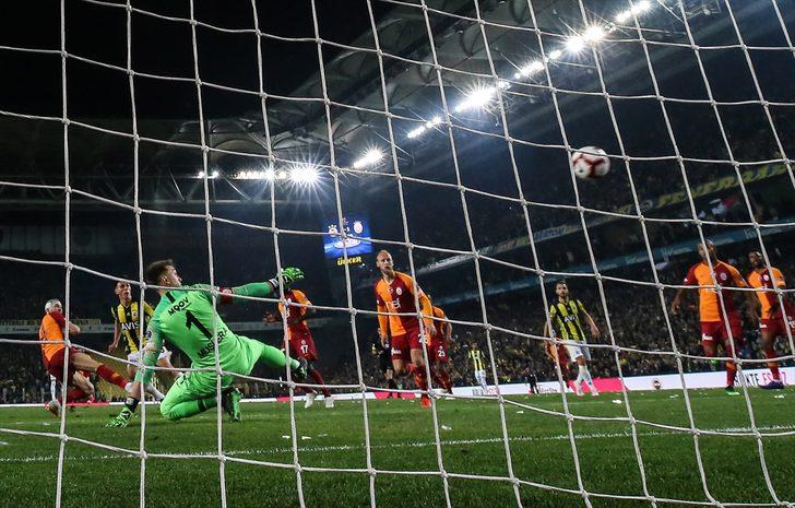 Fenerbahçe-Galatasaray derbisi sosyal medyayı salladı