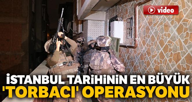 En büyük 'torbacı' operasyonu: 152 gözaltı