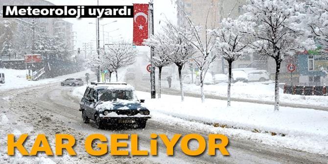 Doğu Anadolu'da kar yağışı etkili olacak