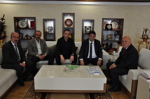 ETB Başkanı Hakan Oral'dan Belediye Başkanlarına tebrik ziyareti