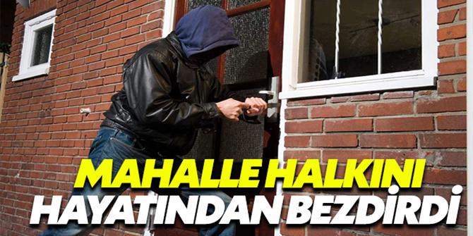 Erzurum'da Bir mahalleyi bezdiren hırsızlık