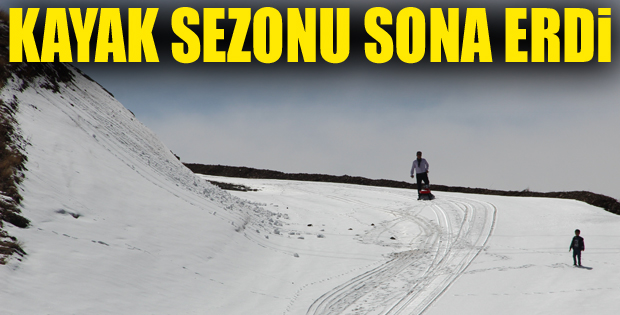 Palandöken'de kış sezonu kapandı