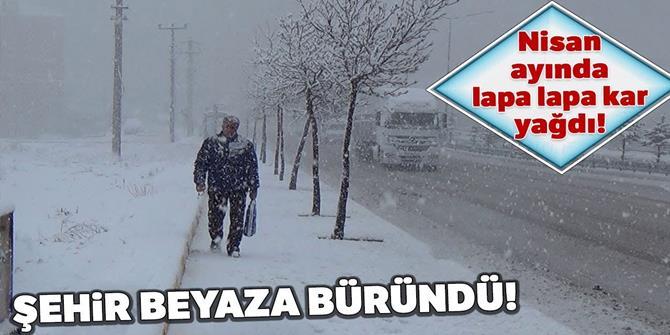 Erzurum Nisan'da kara teslim