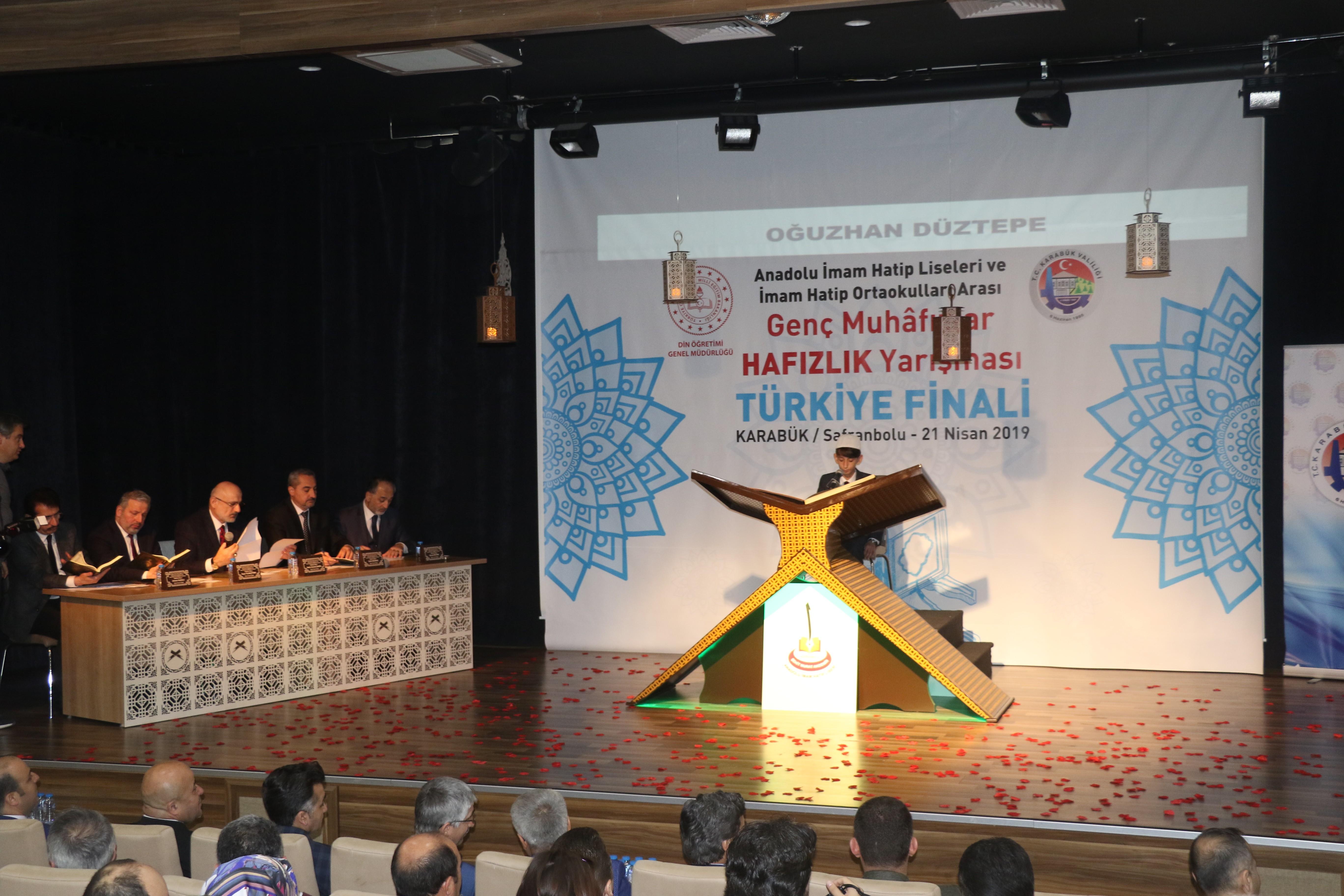 Genç Muhafızlar 'Hafızlık' Türkiye finalinde yarıştı