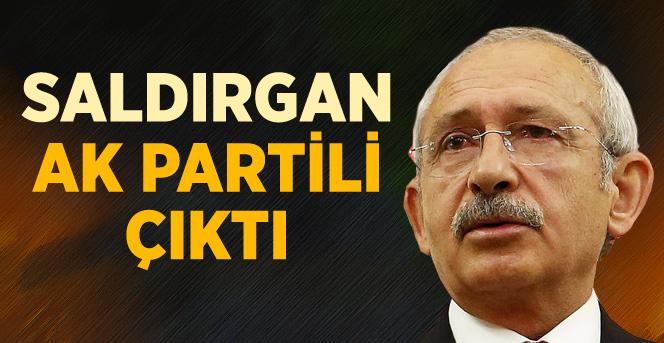 Ömer Çelik'ten Kılıçdaroğlu'na yumruk atan saldırgan hakkında açıklama