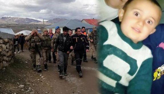 Erzurum'da 4 yaşındaki çocuğun kaybolması