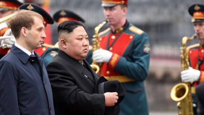 Kuzey Kore lideri Rusya'da