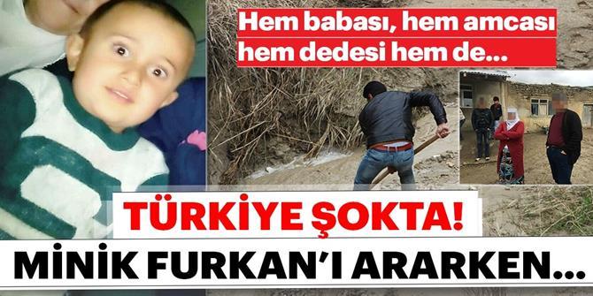 Erzurum'da Kayıp Furkan'ın ailesi adliyeye sevk edildi