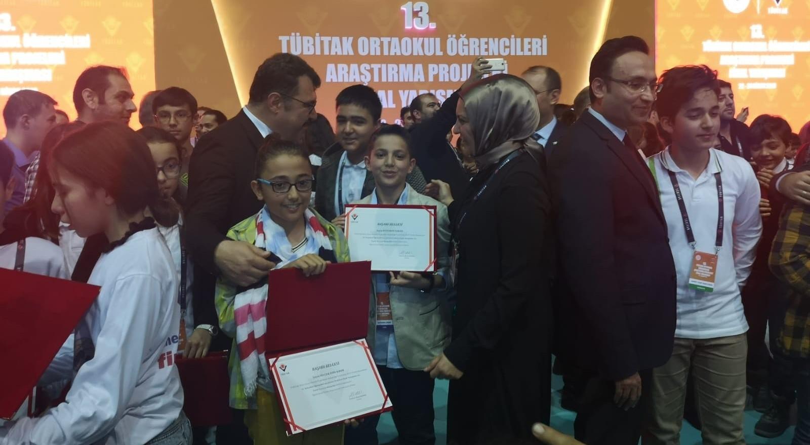 Tübitak Türkiye finalinde Erzurum rüzgarı