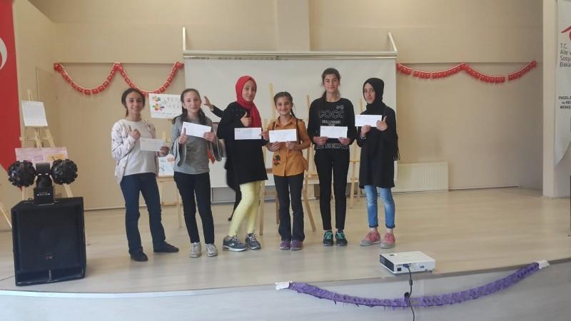 'Otizm' konulu resim ve kompozisyon yarışması ödül töreni düzenlendi