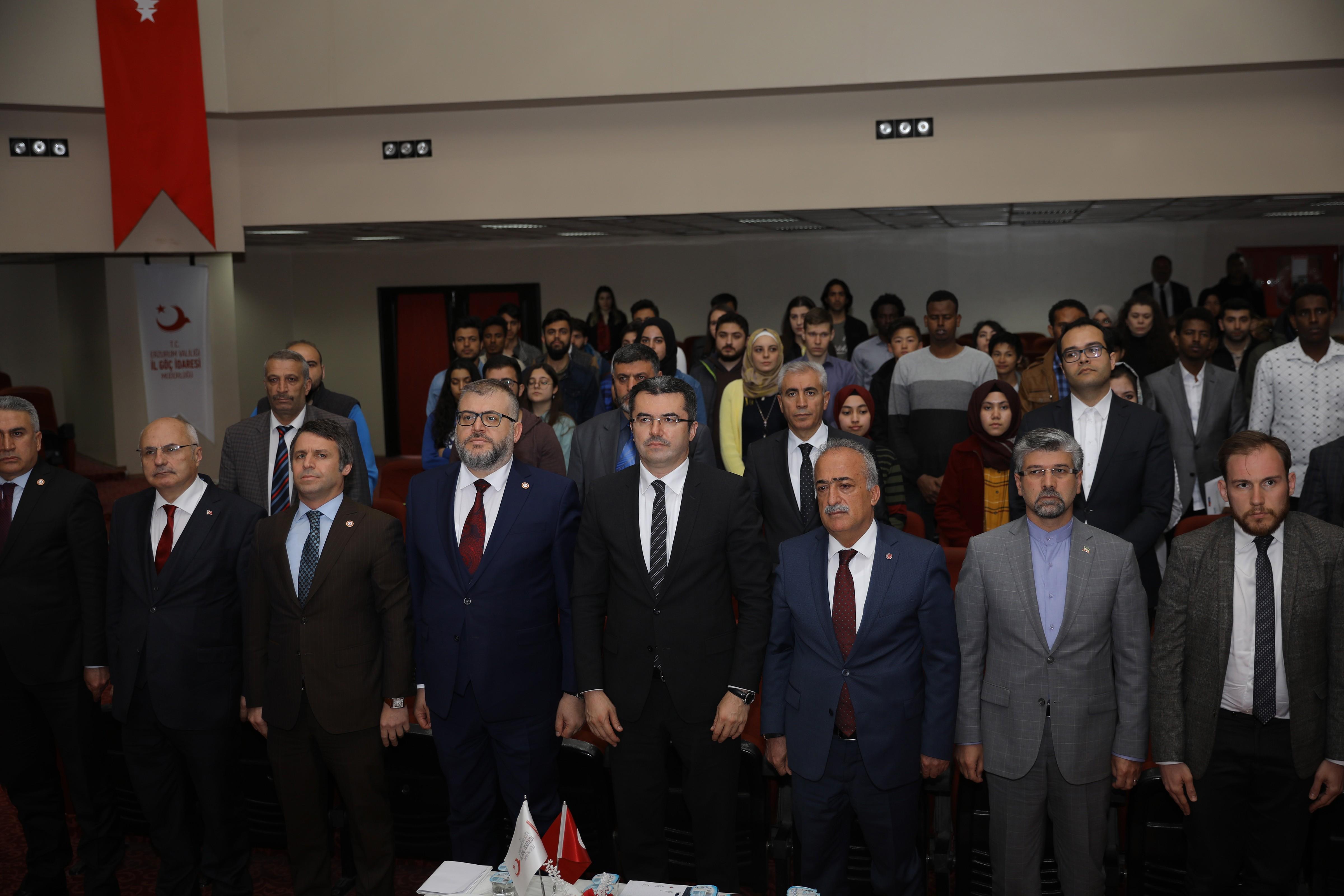 Uyum buluşmalarının finali Erzurum'da yapıldı