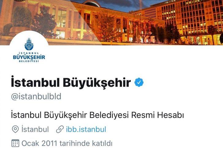 İBB'nin Twitter hesabı, İmamoğlu, Yavaş, Soyer ve Akşener'i takipten çıkardı