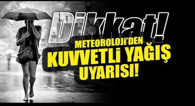 Doğu Anadolu için yağış uyarısı