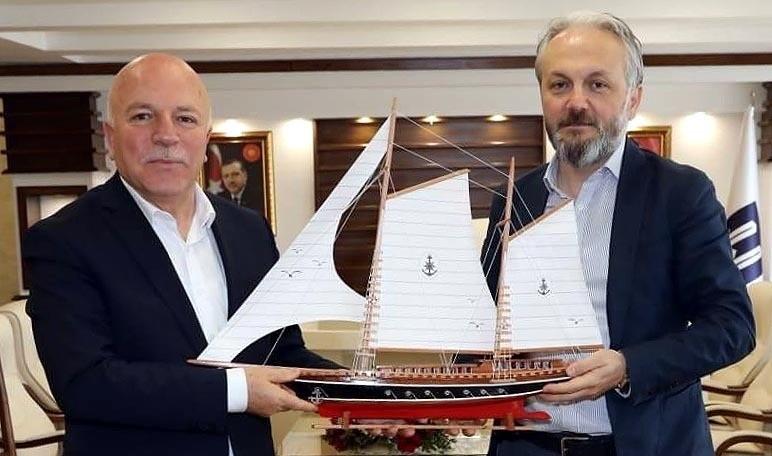 Aras EPSAŞ'tan Başkan Sekmene ziyaret