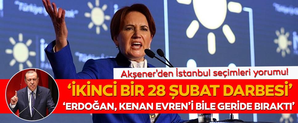 Akşener: Erdoğan ve Bahçeli'yi hedef aldı