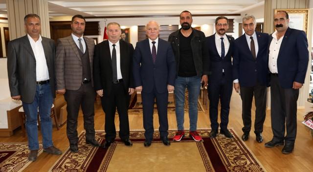 """Başkan Sekmen: """"Erzurum değerler üstü bir şehirdir"""""""