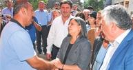 BDP heyetine soğuk karşılama