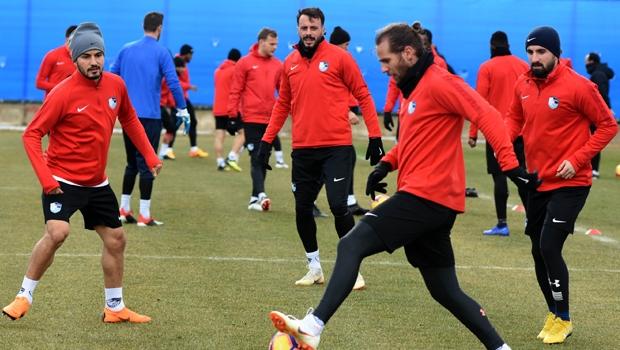 Erzurumspor, Fenerbahçe maçı hazırlıklarını sürdürdü