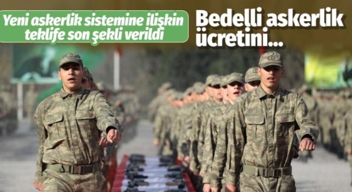 Yeni askerlik sisteminde önemli gelişme!