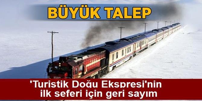 'Turistik Doğu Ekspresi'nin ilk seferi için geri sayım