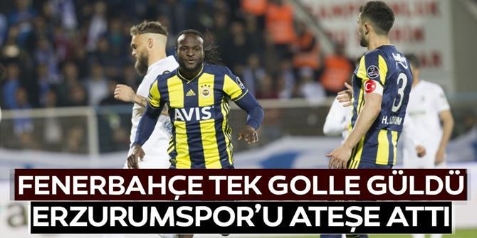 Fenerbahçe galibiyeti tek golle aldı,