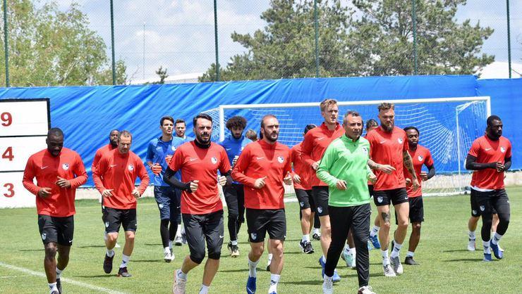Erzurumspor, Kayserispor maçı hazırlıklarına başladı