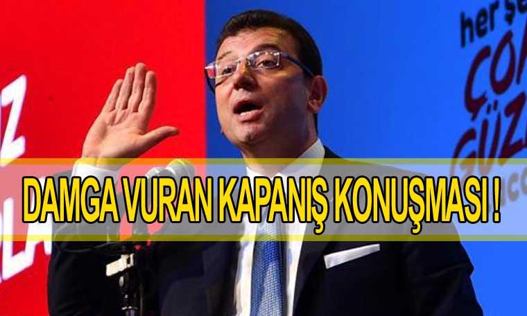 Ekrem İmamoğlu 23 Haziran seçim kampanyasını açıkladı
