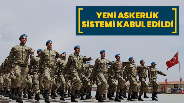 Yeni askerlik sitemi teklifi TBMM Milli Savunma Komisyonu'nda kabul edildi