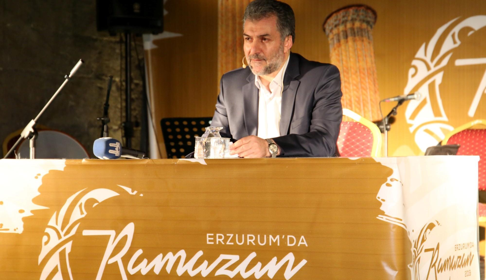 Erzurum'da ramazan etkinlikleri doludizgin
