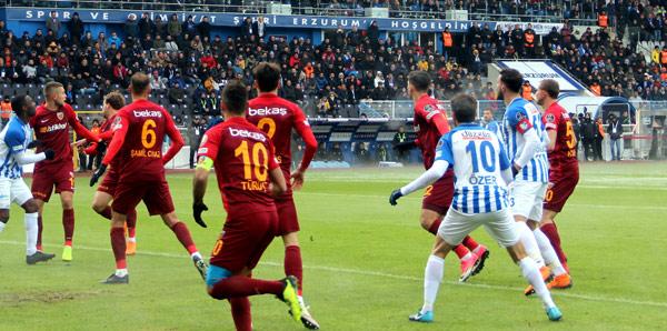Erzurumspor, Kayseri'ye gitti