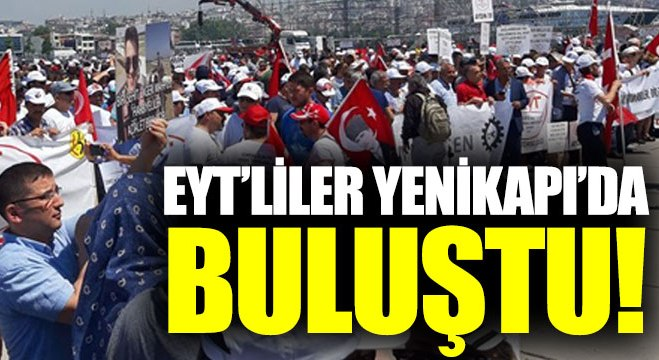 Milyonlarca EYT'li Yenikapı'da